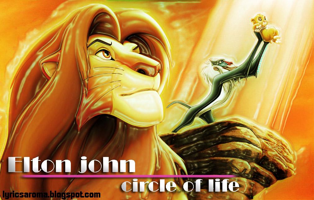 Lyrics to circle of life by elton john