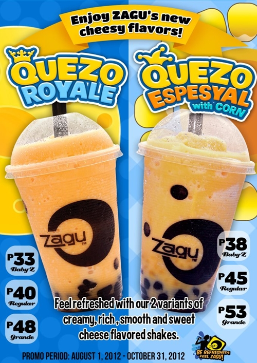 zagu pearl shake Zagu was my favorite childhood treat and was the only shake place around and it's been serving up great drinks for now almost 20 years zagu has survived all the crazes and is still going strong today.