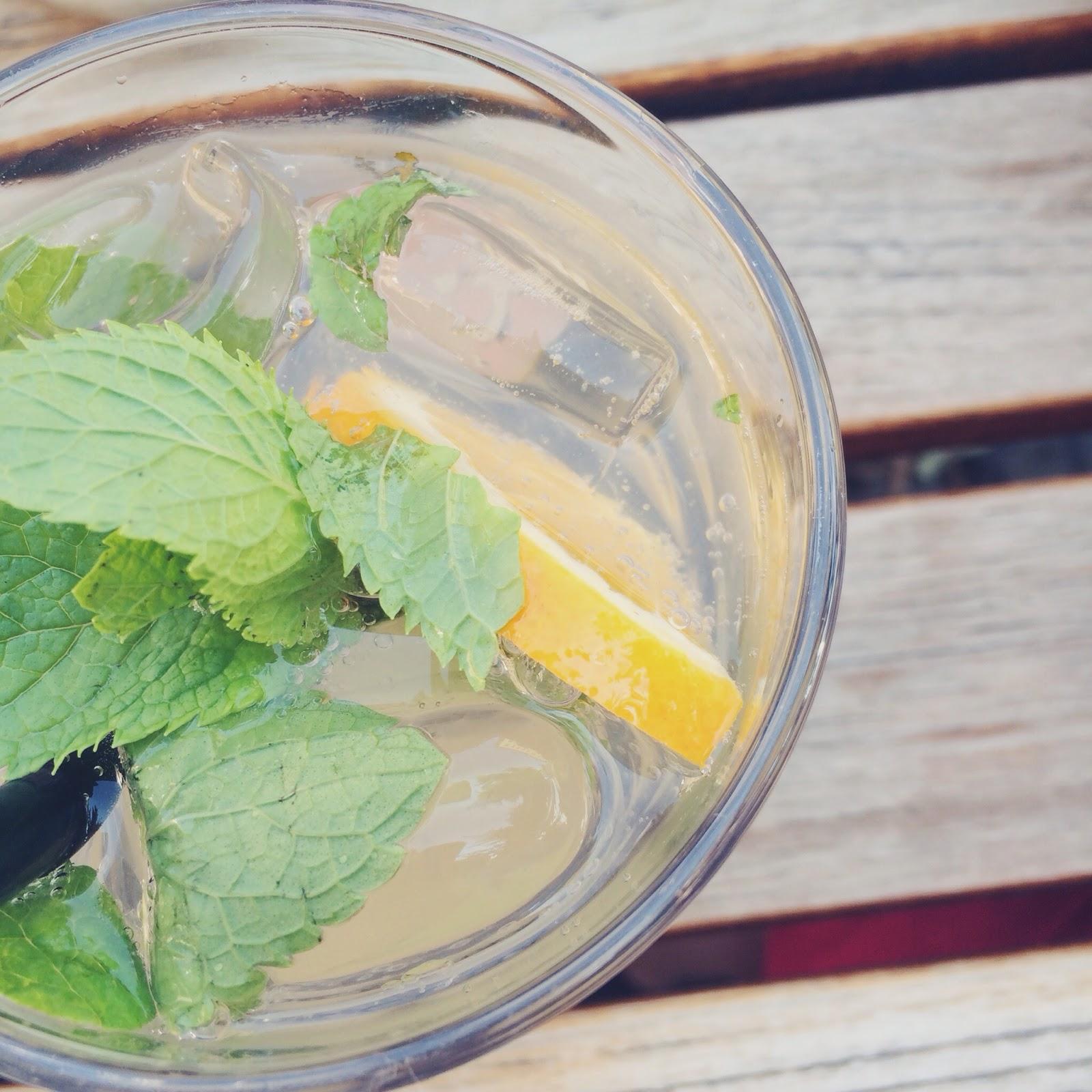 Limonade am heißen Sommertag