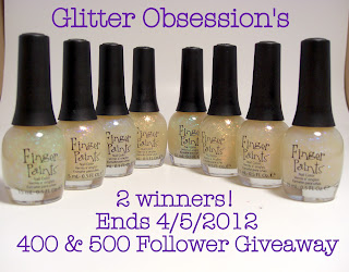 Glitter Obsession giveaway TWO