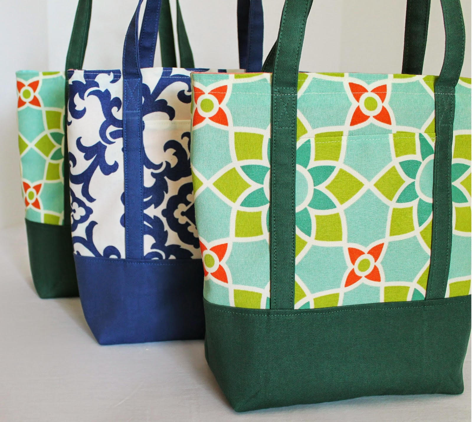 Lined Canvas Tote Bags for Amazing Teachers | The Inspired Wren