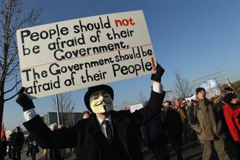 Anonymous,megaupload,liberdade de expressão