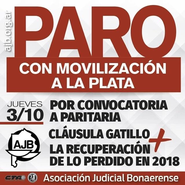 ⛔ #PARITARIA | #PAROyMOVILIZACIÓN