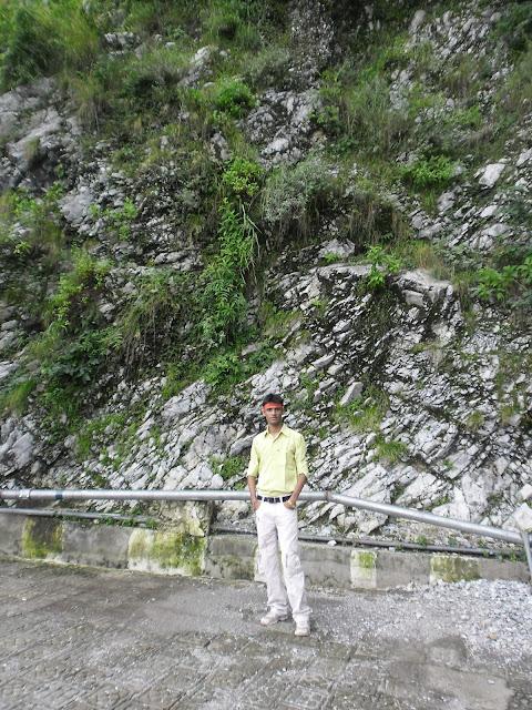 Anshu Dikshant at Vaishno Devi Mandir, Jammu & Kashmir