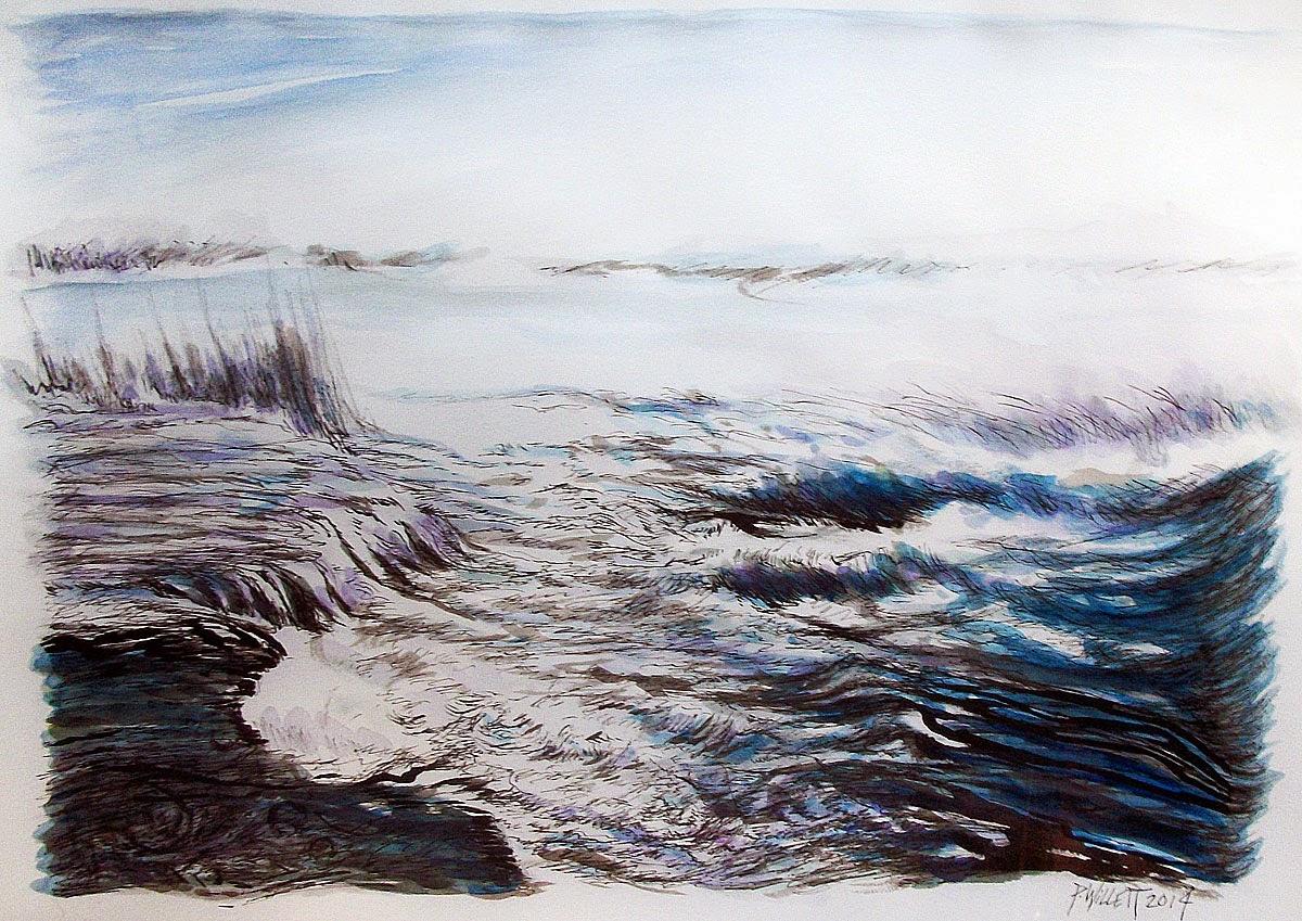 Niagara Rapids, Niagara Falls, River, Rapids, Goat Island, Three Sisters Island, Albright Knox Art Gallery, Burchfield Penney