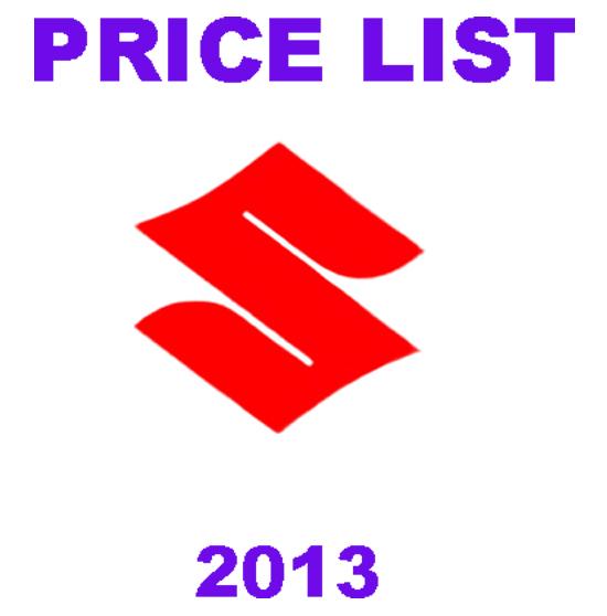 DAFTAR HARGA :: Harga Mobil Suzuki Terbaru 2013