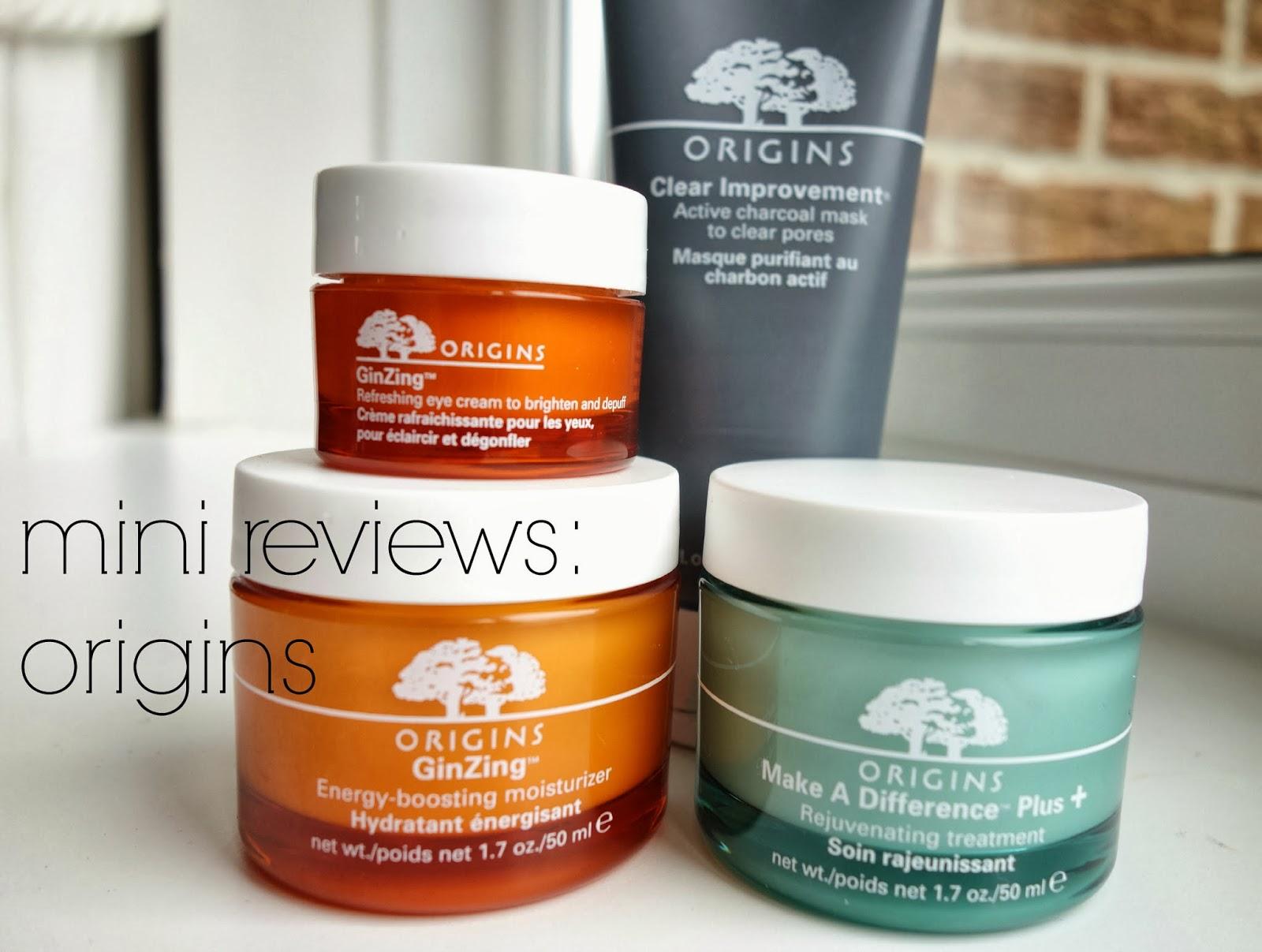 origins skin care reviews