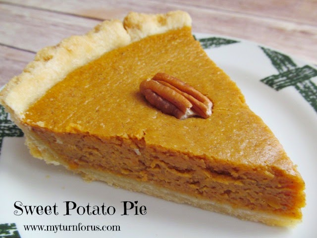 This Sweet Potato Pie is made with sweet potatoes, cinnamon and some ...