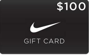 Win $100 Nike Giftcard