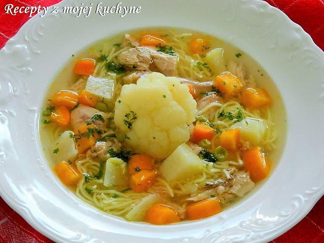 Nedeľná kuracia polievka