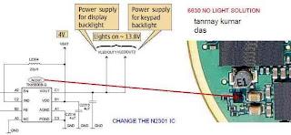 Nokia 6630 LCD backlight