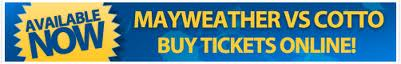 Cotto vs Mayweather Tickets