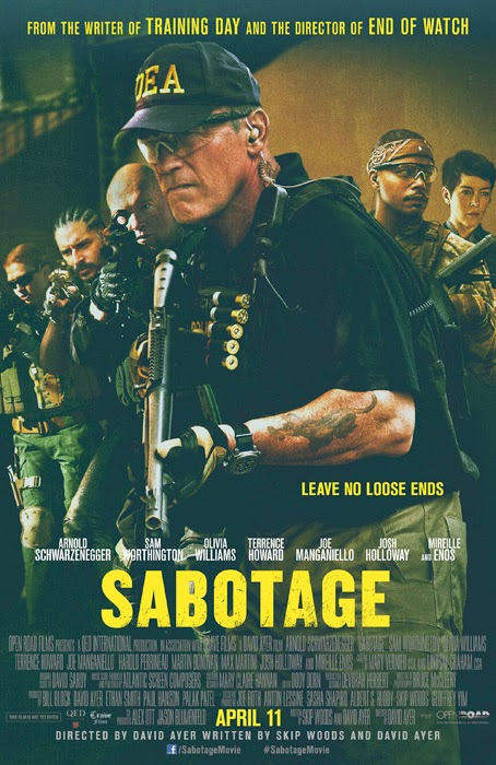 Sabotage - worst movie of 2014