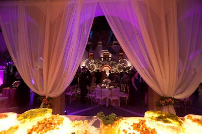 wedding, draping, Chrysler Museum, Isha Foss Events