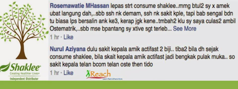 Shaklee Immediate Effects