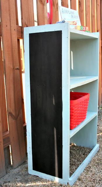 Here Comes the Sun: Kid's Bookshelf Makeover with Annie Sloan Chalk Paint