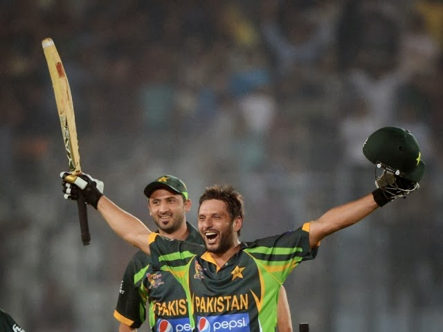 Shahid Afridi vs India innings Winning Moments Asia cup 2014