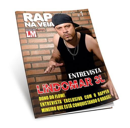 Revista Rap Na Veia 1° edição tá chegando com Lindomar3L na capa
