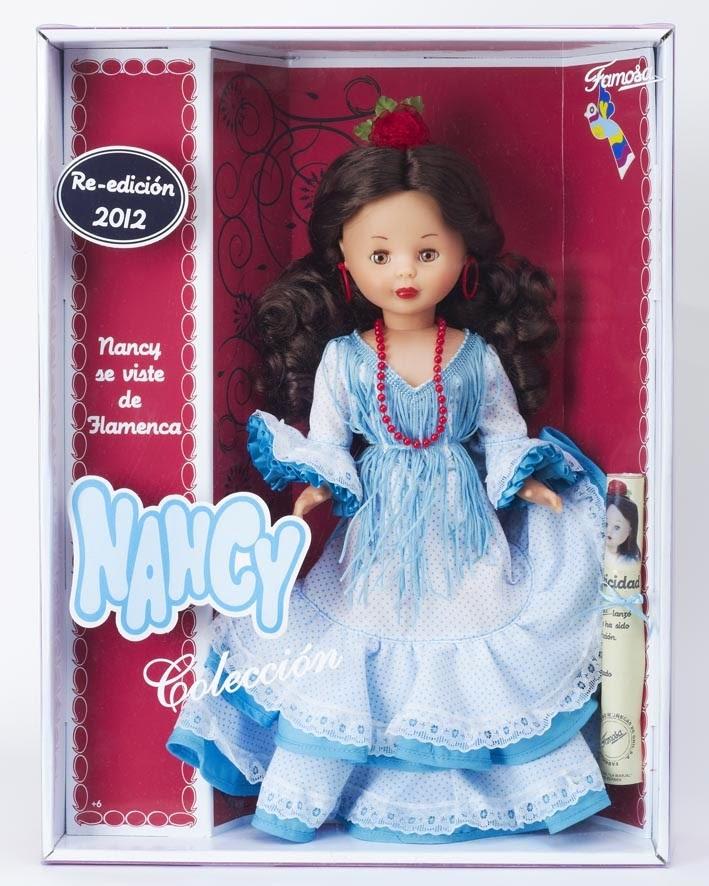JUGUETES - NANCY - Muñeca Nancy Flamenca Nancy Colección : Re-edición 2012 Producto Oficial | Famosa 700009132 | A partir de años