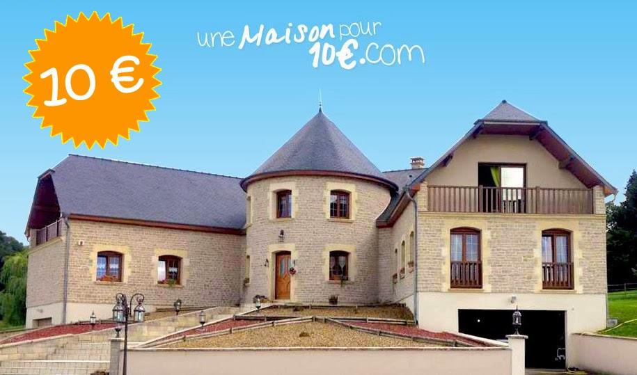 Maison pour 10 euros