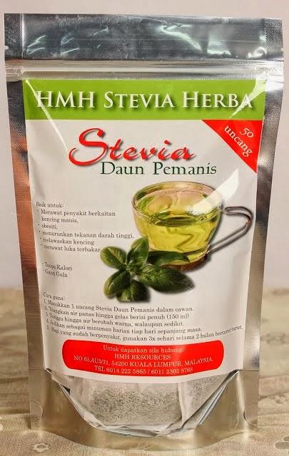 Stevia Ganti Gula Dalam Makanan Dan Minuman, Untuk Diabetes.