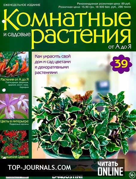 Комнатные и садовые растения от а до