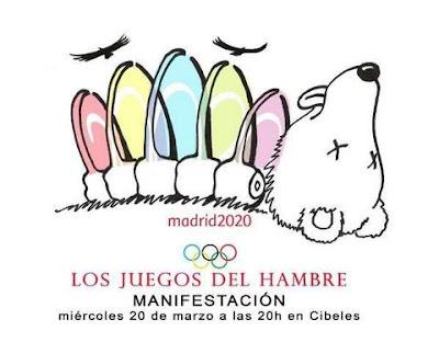 Cartel Manifestación Madrid 2020