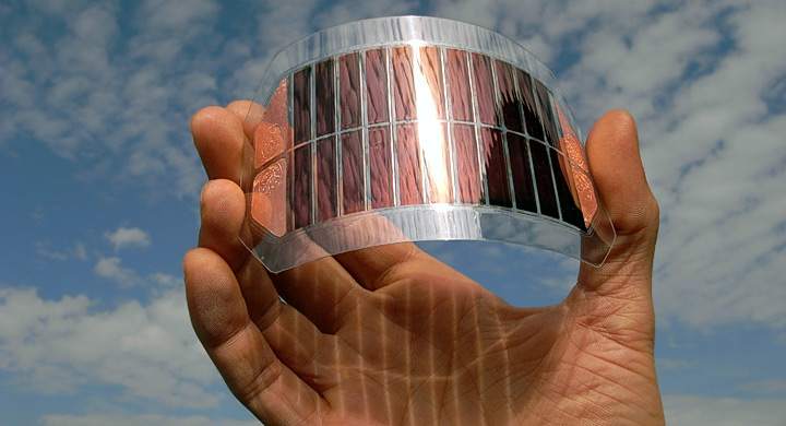 Placa solar fabricada con grafeno