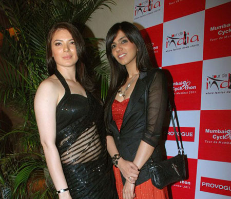 Bollywood Models at Nishka Lulla's 'Cyclothon Fashion Show