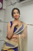 Sanjjana Latest Glam pics in saree-thumbnail-15