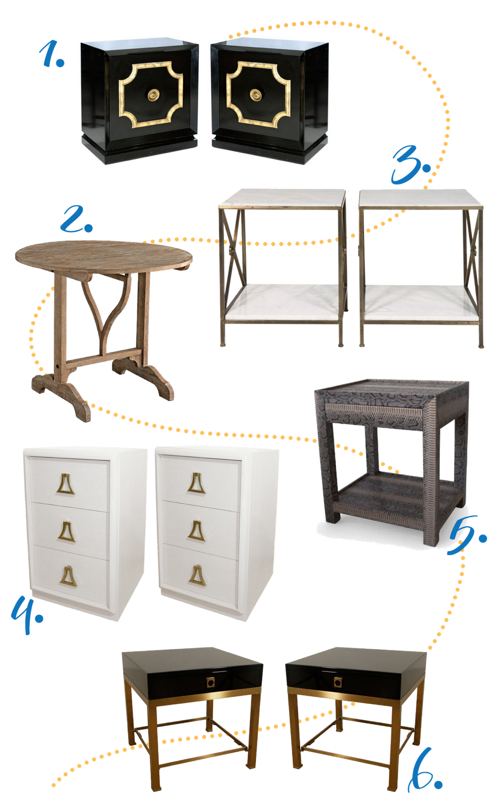 End Tables For Bedroom Amazon com Set of 2 Nightstand MDF End