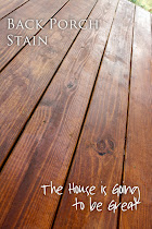 Porch Stain Tutorial