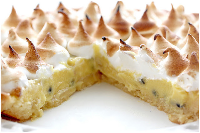 passion fruit meringue tart makes 1 tart and 2 4