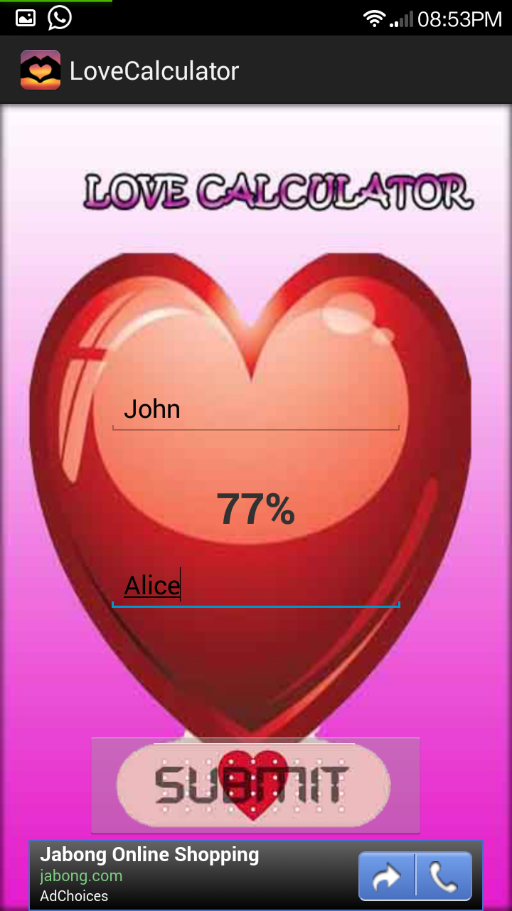 Uncategorized Love Calculator Game Online ashsoft android applications this love calculator is just a fun game to delight the young and old lovers in world for dont take anything serious enjoy game