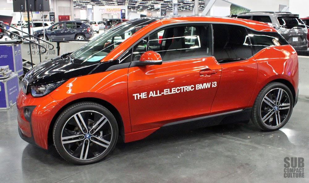 BMW i3 front side