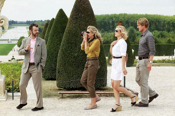 Owen Wilson, Michael Sheen and Rachel McAdams in Midnight in Paris