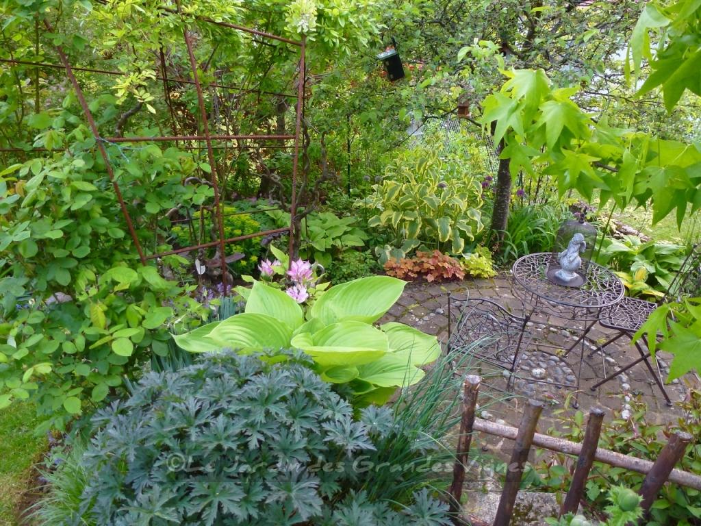 Le jardin des grandes vignes rendez vous aux jardins for Le jardin aux epilobes