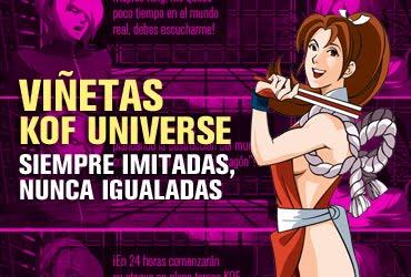 viñetas kof universe