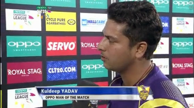 Kuldeep-Yadav-KOLKATA-KNIGHT-RIDERS-V-PERTH-SCORCHERS-CLT20-2014
