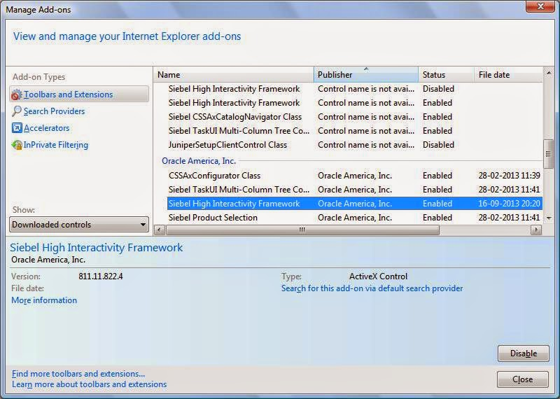 Download Siebel High Interactivity Framework For Ie 7