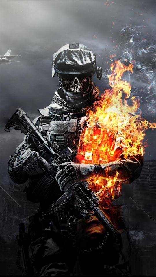 Android best wallpapers battlefield 3 skeleton soldier fire battlefield 3 skeleton soldier fire android best wallpaper voltagebd Images