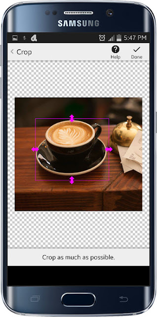 Background Eraser aplication