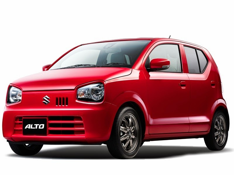 suzuki presented the new alto 2015 2016 in japan garage car. Black Bedroom Furniture Sets. Home Design Ideas