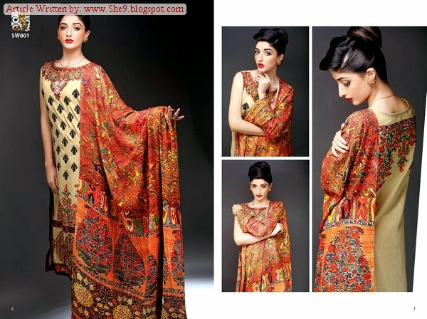 Shaista Embroidered Collection