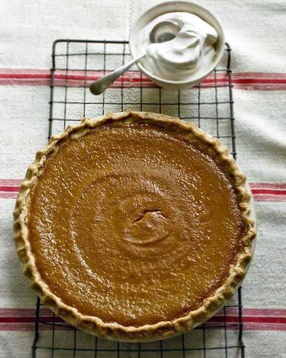 pumpkin pie (martha stewart)