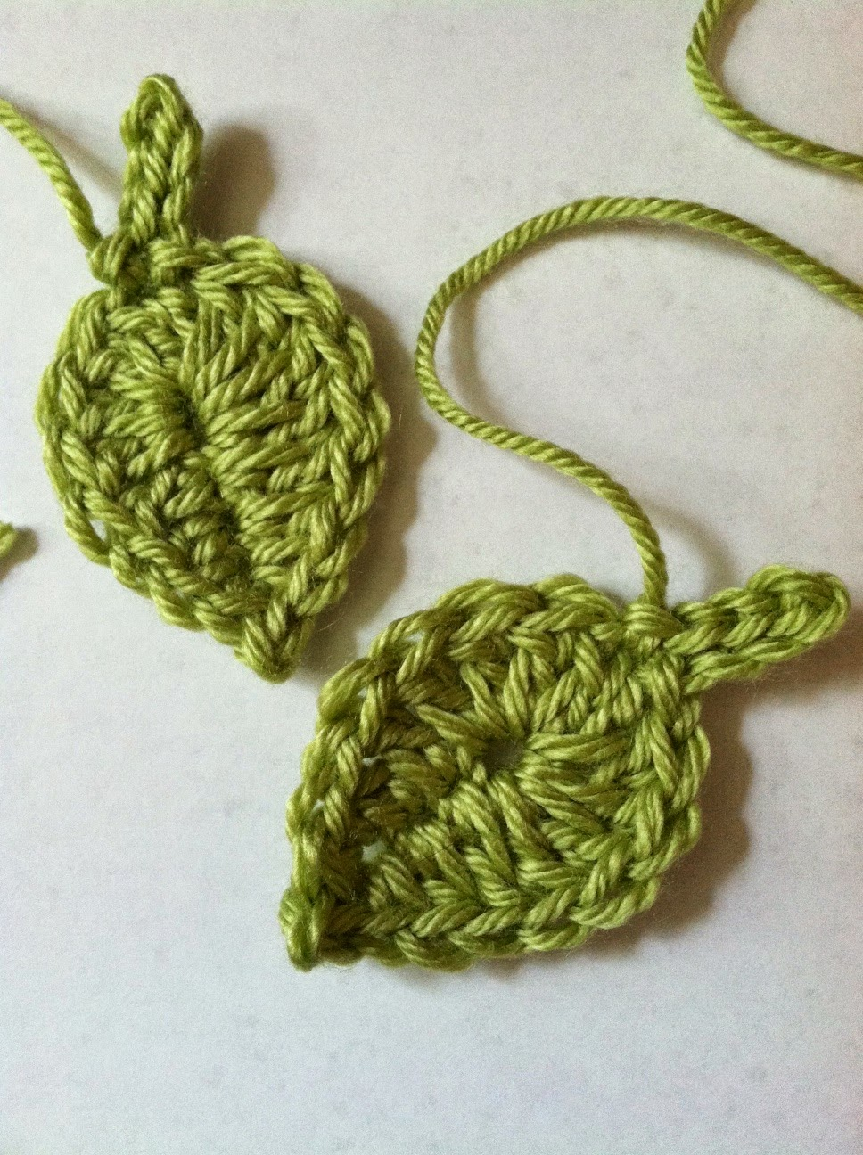 Crocheting Leaves : ... Cottage Kids: A Little Leaf ..... FREE Crochet Leaf Pattern