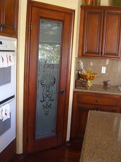 Kitchen armoire pantry - Choosing The Right Pantry Doors To Help You Spice Up The Kitchen Space