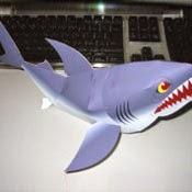 Shark Papercraft Model