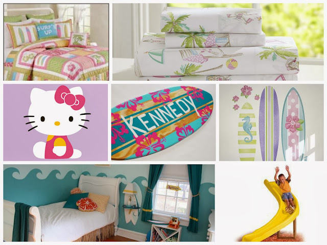 Surf / Beach Kids Room Inspiration