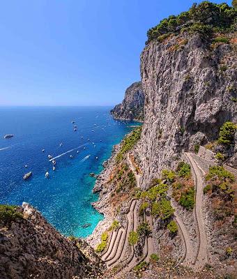 Via Krupp – Capri – Itália
